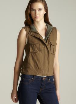 Costa Blanca Two Pocket Linen Vest