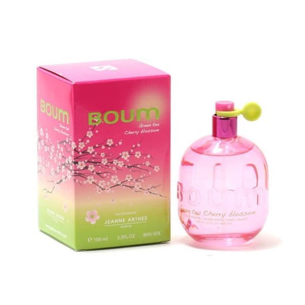 Jeanne Arthes Boum Green Tea Cherry Blossom Women's 3.4-ounce Eau de Parfum Spray
