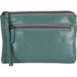 Women's Latico Clara Clutch 7606 Sea Green Leather