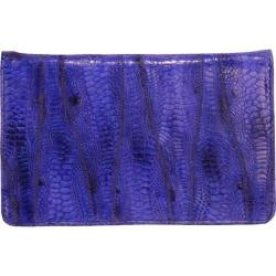 Women's Latico Ginger Wallet 5302 Royal Blue Leather