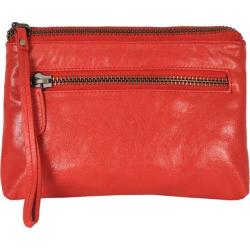 Women's Latico Clara Clutch 7606 Poppy Leather