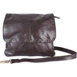 Women's Latico Jamie Cross Body/Shoulder Bag 7991 Espresso Leather