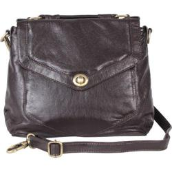 Women's Latico Doyle Cross Body/Clutch 7973 Espresso Leather