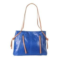 Women's Latico Ellen Shoulderbag 7959 Blue/Tan Leather