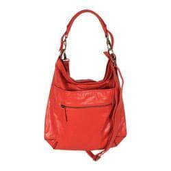 Women's Latico Francesca Hobo 7969 Poppy Leather
