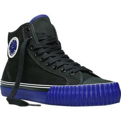 PF Flyers Center Hi Black/Purple Canvas