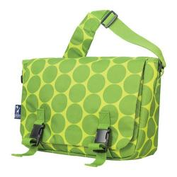 Wildkin Jumpstart Messenger Bag Big Dots Green