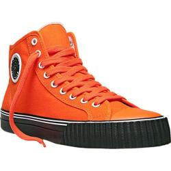 PF Flyers Center Hi Orange/Black Canvas