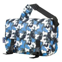 Wildkin Blue Camo Jumpstart 15-inch Laptop Messenger Bag
