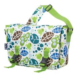 Wildkin Lily Frogs Jumpstart 15-inch Laptop Messenger Bag