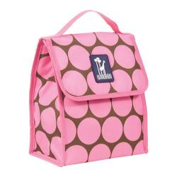Wildkin Munch 'n Lunch Bag Big Dots Hot Pink