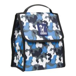 Wildkin Munch 'n Lunch Bag Blue Camo