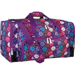 Women's Wildkin Weekender Peace Signs Purple