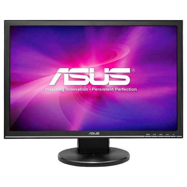 Asus Vw22At-Csm 22 Inch Widescreen 50,000,000:1 5Ms Vga/Dvi Led Lcd Monitor, W/ Speakers (Black) 277500913