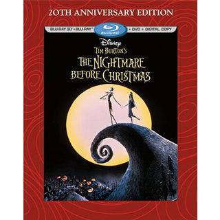 The Nightmare Before Christmas 3D (20th Anniversary Edition) (Blu-ray Disc)