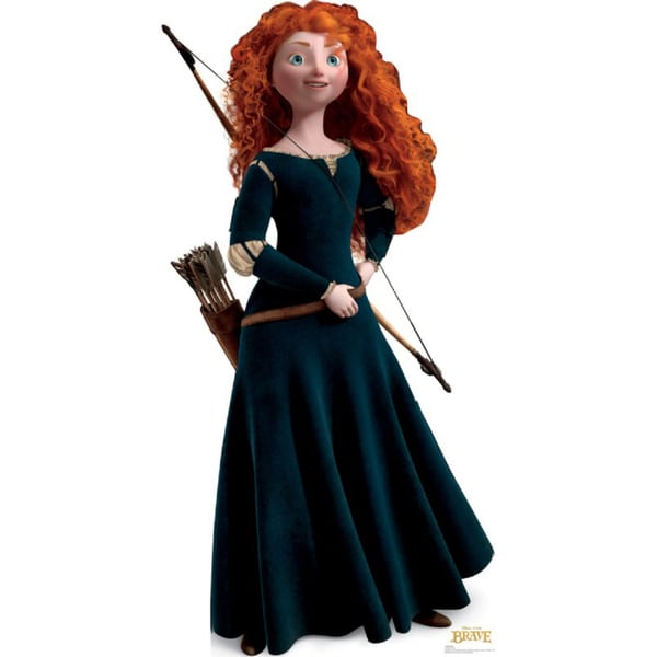 Merida Brave Disney / Pixar Cardboard Stand-up