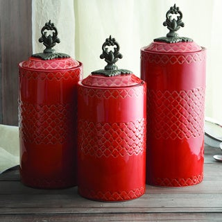 Kitchen Storage Canisters (Set of 3)