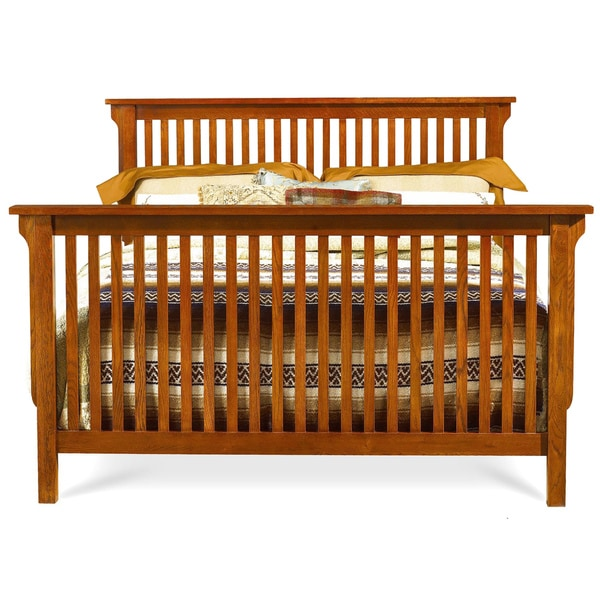 Mastercraft Collections Prairie Mission Solid Oak Spindle Bed