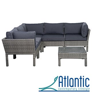 Majorca 6-piece Grey Sectional