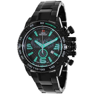 Swiss Precimax Men's 'Forge Pro' Black Dial Swiss Chronograph Watch