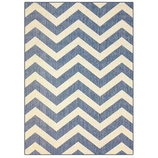 nuLOOM Modern Chevron Indoor Outdoor Area Rug (5'3 x 7'9)