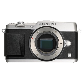 Olympus PEN E-P5 16.1 Megapixel Mirrorless Camera Body Only - Silver