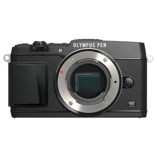 Olympus PEN E-P5 16.1 Megapixel Mirrorless Camera Body Only - Black