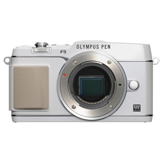 Olympus PEN E-P5 16.1 Megapixel Mirrorless Camera (Body Only) - White