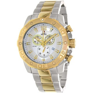 Swiss Precimax Men's 'Legion Pro' Two-tone Swiss Chronograph Watch
