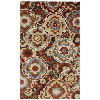 American Rug Craftsmen Shaggy Vibes Timberlake Picante Rug (8' x 11')