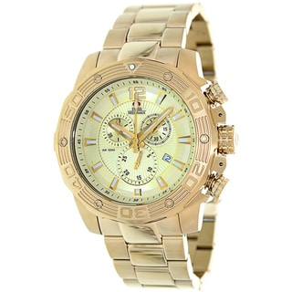 Swiss Precimax Men's 'Legion Pro' Goldtone Swiss Chronograph Watch