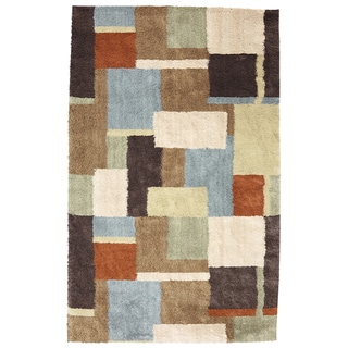 American Rug Craftsmen Shaggy Vibes Underpainting Coco Butter Rug (3'4 x 5'6)
