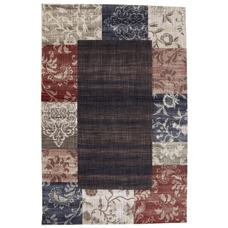 American Rug Craftsmen Dryden Garden District Mesquite Rug (5'3 x 7'10)