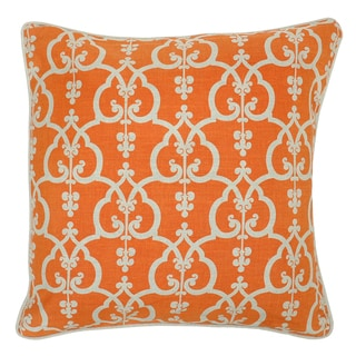 Sporty Linen 22x22-inch Down Throw Pillows (Set of 2)