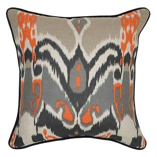 'Mel Linen 18x18-inch Throw Pillows (Set of 2)