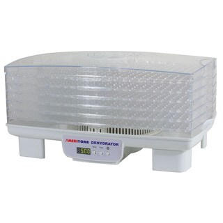 AmeriHome Electric 6-tray Food Dehydrator