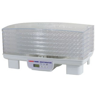 AmeriHome Electric 6-tray Food Dehydrator