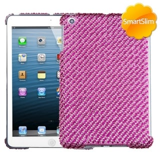 BasAcc Pink Stripe Diamante SmartSlim Case for Apple iPad Mini