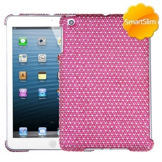 BasAcc Pink/ White Dots Diamante SmartSlim Case for Apple iPad Mini