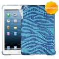 BasAcc Blue Zebra Skin Diamante SmartSlim Case for Apple iPad Mini