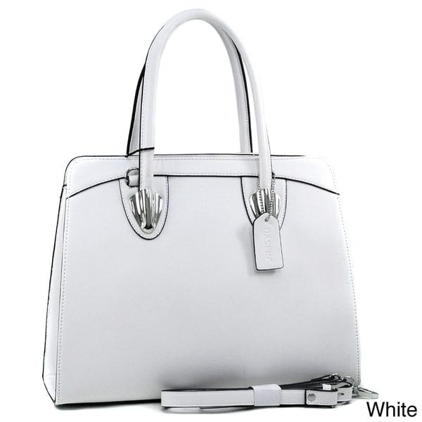 Dasein Structured Top-handle Shoulder Bag