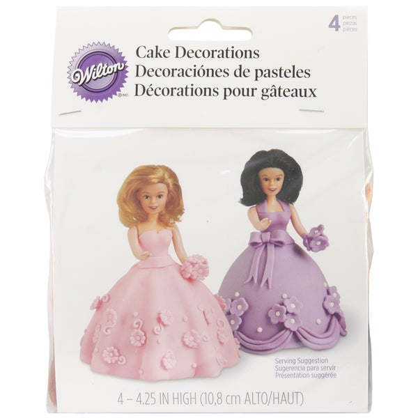 Mini Doll Picks 4/Pkg-
