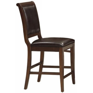 Grace Dark Cherry Counter Stools (Set of 2)