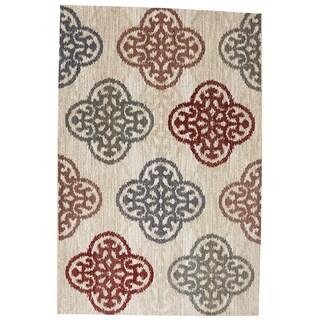 American Rug Craftsmen Dryden Winter Carnival Latte Rug (9'6 x 12'11)