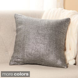 Metallic Weave 18-inch Decorative Pillows (Set of 2)