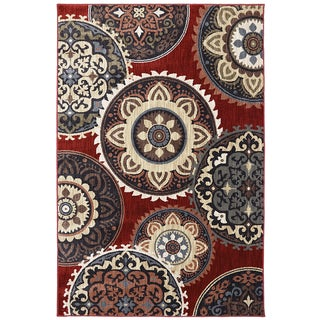 American Rug Craftsmen Dryden Summit View Ashen Rug (5'3 x 7'10)