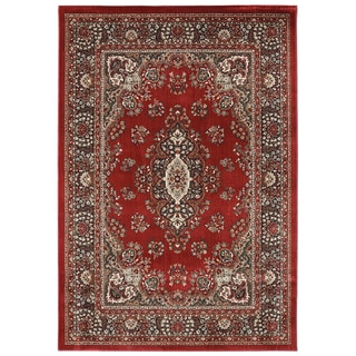 American Rug Craftsmen Madison Shaker Heights Red Rug (5'3 x 7'10)