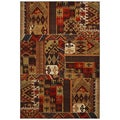 American Rug Craftsmen Madison Louis and Clark Bark Brown Rug (5'3 x 7'10)