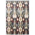 American Rug Craftsmen Madison Eastman Orin Blue Rug (3'6 x 5'6)