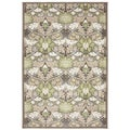 American Rug Craftsmen Madison Blushing Bower Brown Rug (8 'x 11')